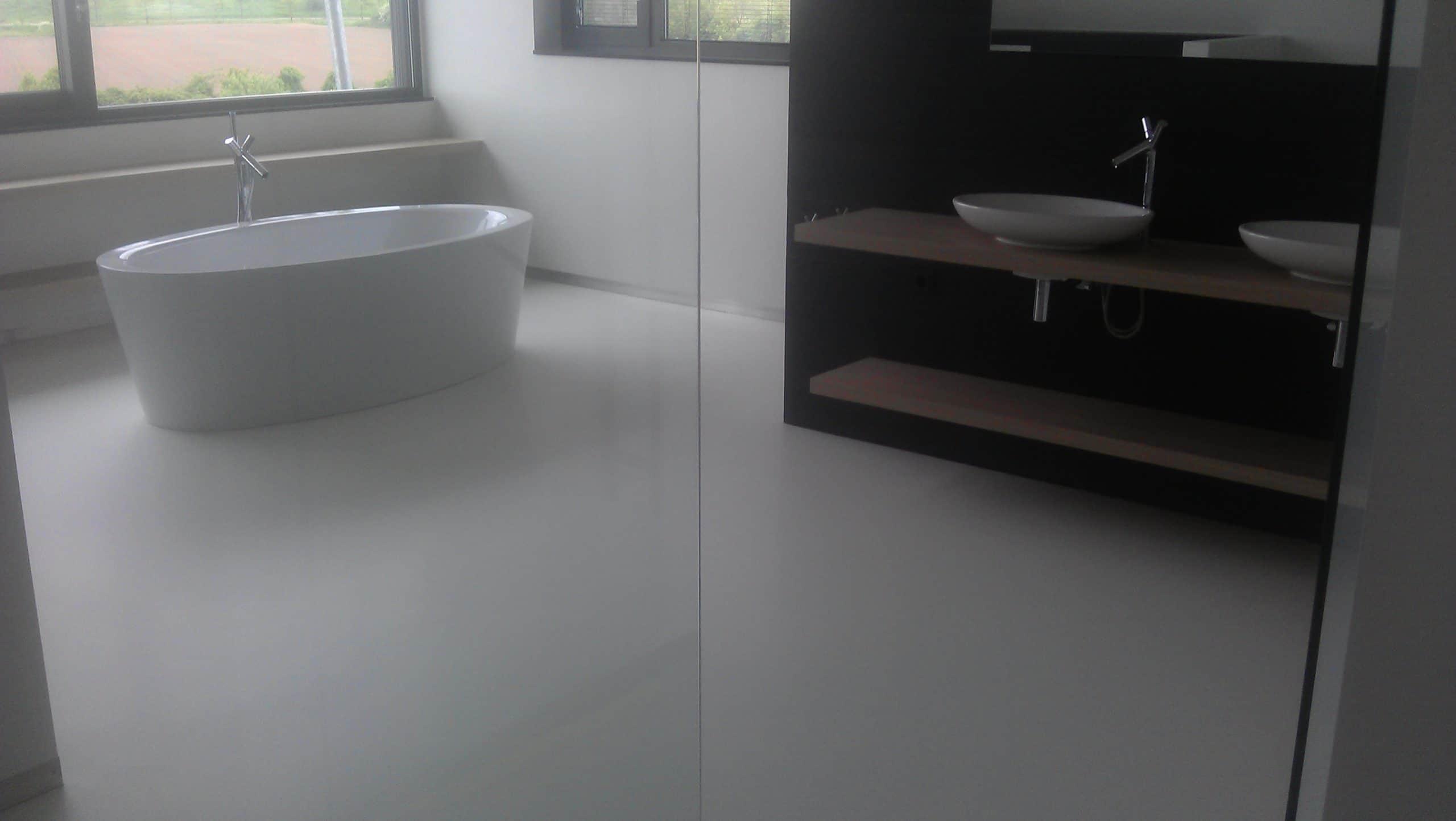 Badkamer Met Gietvloer : Badkamer gietvloer alphen nijssen vloeren