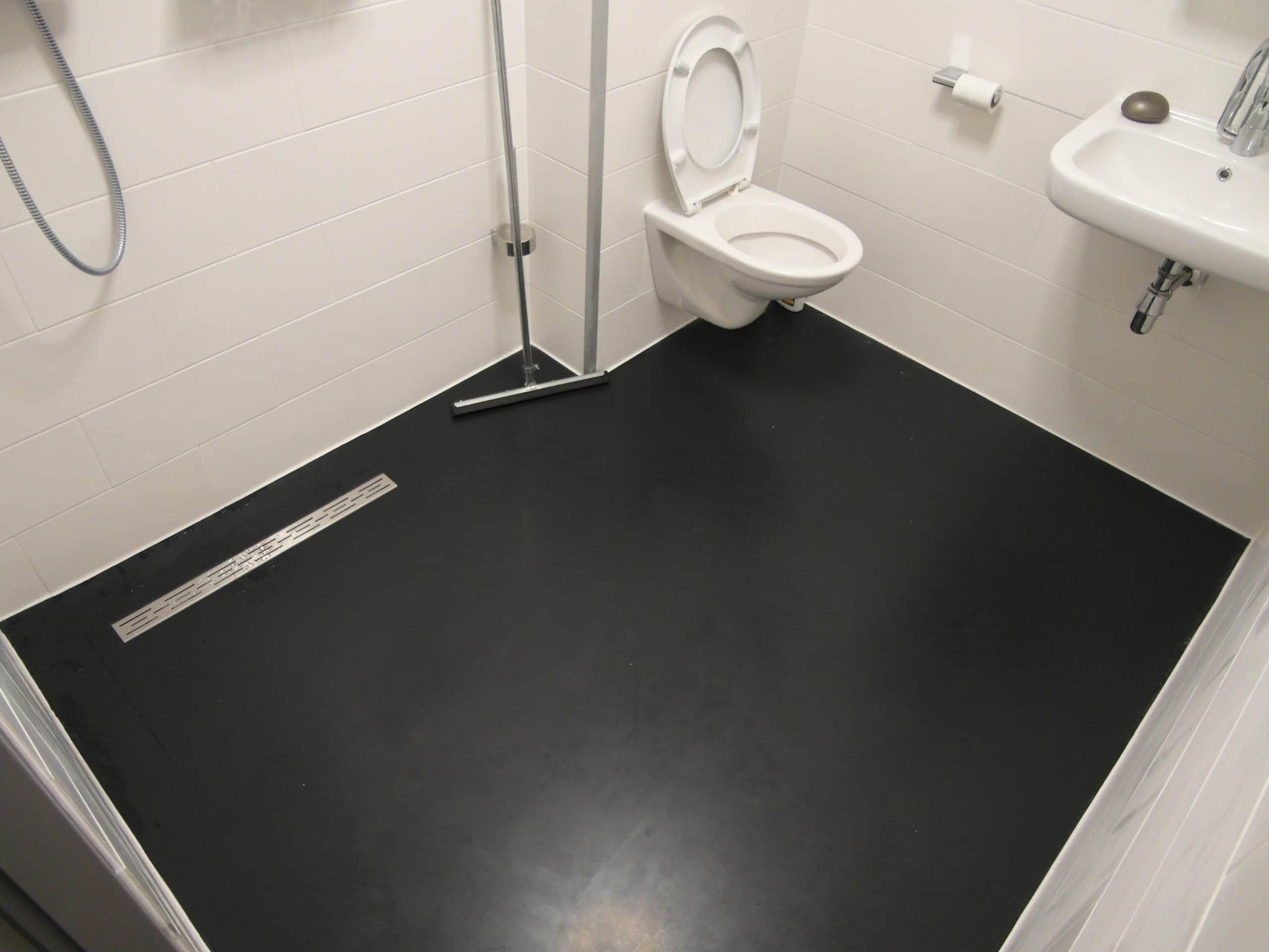 Badkamer Met Gietvloer : Gietvloeren nijssen vloeren